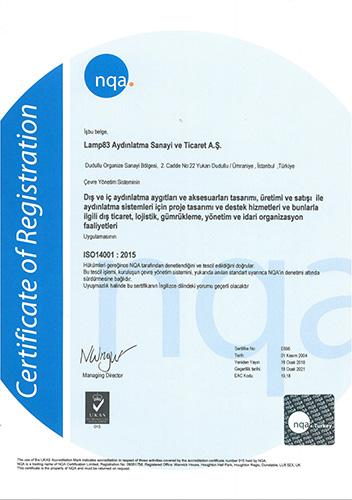 ISO 14001:2015 - LAMP 83