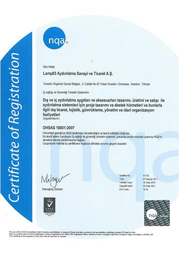 ISO 18001:2017 - LAMP 83