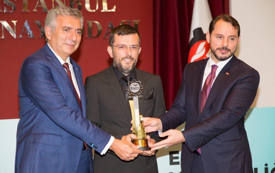 LAMP 83'e İSO'dan Enerji Verimliliğinde Birincilik Ödülü